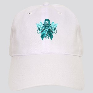 I Wear Teal for my Wife Cap