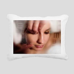 Contact lens use, conceptual image - Rectangular C