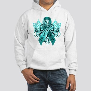 I Wear Teal for my Sister Hooded Sweatshirt
