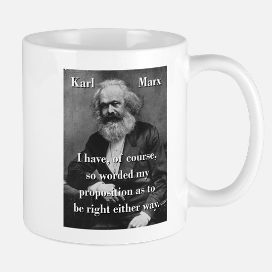I Have Of Course - Karl Marx Mugs