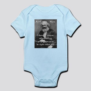 I Have Of Course - Karl Marx Body Suit