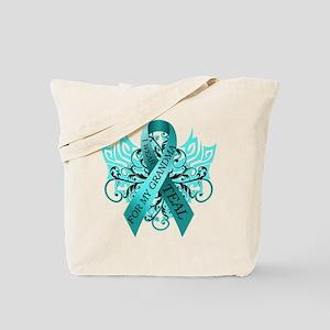 I Wear Teal for my Grandma Tote Bag