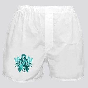 I Wear Teal for my Daughter Boxer Shorts