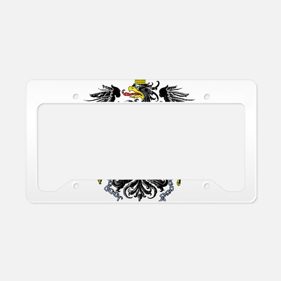 Cute Souvenir License Plate Holder