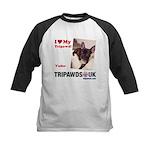 Personalized Tipawds UK Kids Baseball Jersey