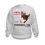 Personalized Tipawds UK Kids Sweatshirt