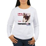 Personalized Tipawds UK Women's Long Sleeve T-Shir