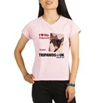 Personalized Tipawds UK Performance Dry T-Shirt