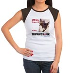 Personalized Tipawds UK Women's Cap Sleeve T-Shirt