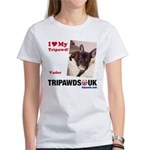 Personalized Tipawds UK Women's T-Shirt