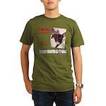 Personalized Tipawds UK Organic Men's T-Shirt (dar