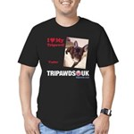Personalized Tipawds UK Men's Fitted T-Shirt (dark