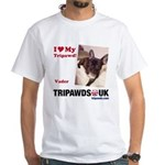 Personalized Tipawds UK White T-Shirt