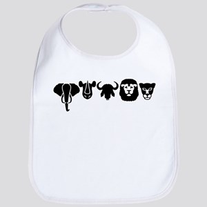 Africa animals big five Bib