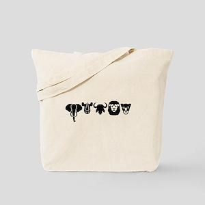 Africa animals big five Tote Bag