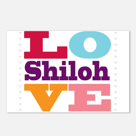 I Love Shiloh Postcards (Package of 8)