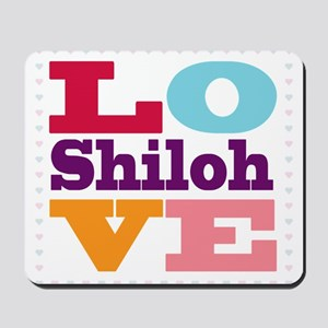 I Love Shiloh Mousepad