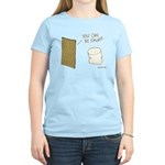 Be S'more Women's Pink T-Shirt