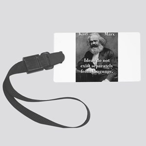 Ideas Do Not Exist Separately - Karl Marx Luggage