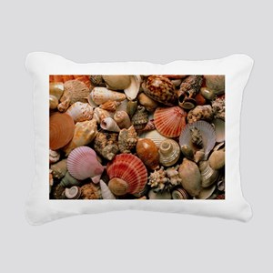 Collection of sea shells - Rectangular Canvas Pill
