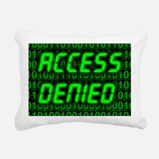 Electronic security - Rectangular Canvas Pillow