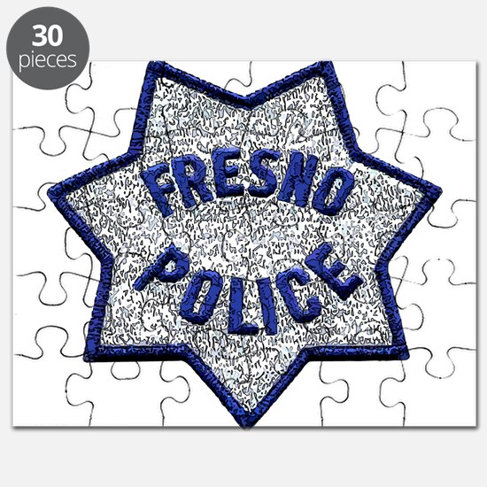Fresno Police patch Puzzle