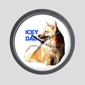 Icey dad for fathers day icelandic sheepdog Wall C