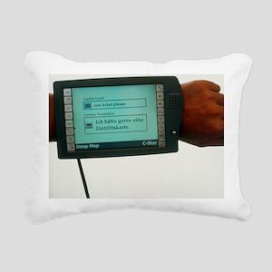 Prototype portable computer tourist guide on wrist