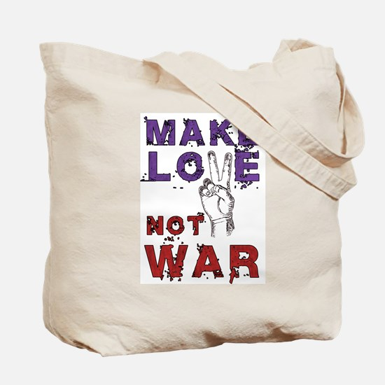 KEEP CALM Peace Sign Tote Bag