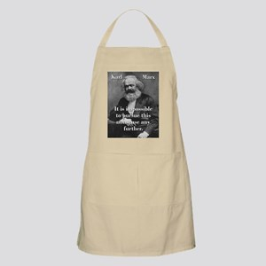 It Is Impossible To Pursue - Karl Marx Light Apron