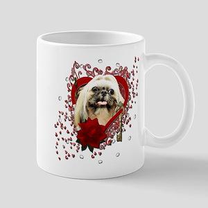 Valentines - Key to My Heart - Shih Tzu Mug