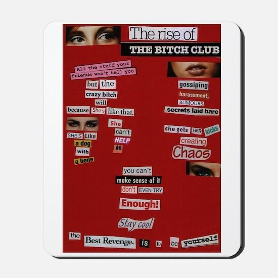 Bitch Club Mousepad
