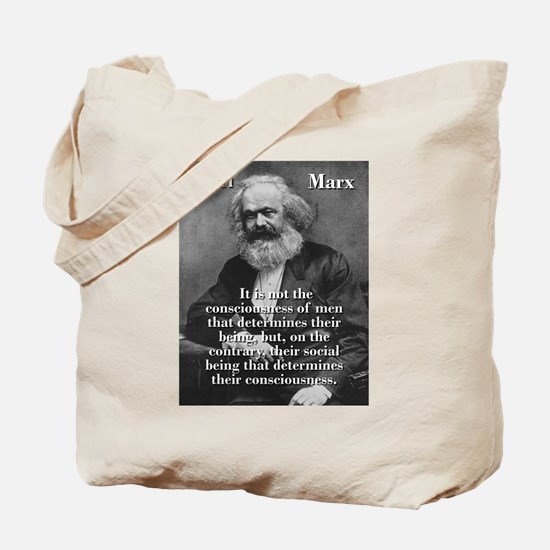 It Is Not The Consciousness Of Men - Karl Marx Tot
