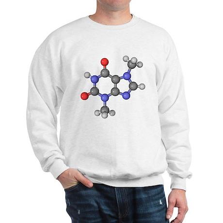 Theobromine molecule - Sweatshirt