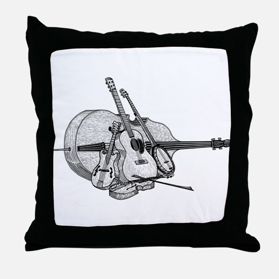 Bluegrass Throw Pillow