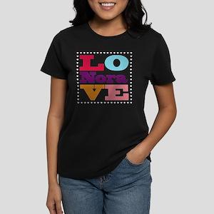 I Love Nora Women's Dark T-Shirt