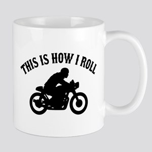 This Is How I Roll Cafe Racer Mug