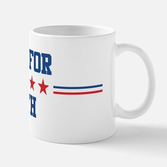 Vote for BETH Mug