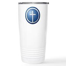 Christian Cross Stainless Steel Travel Mug