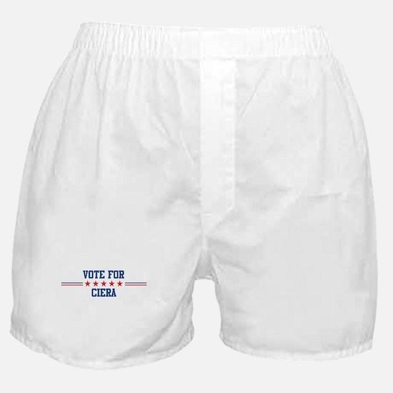 Vote for CIERA Boxer Shorts