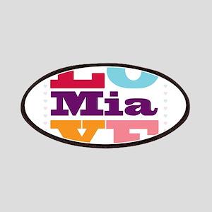 I Love Mia Patches