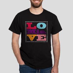 I Love Mia Dark T-Shirt