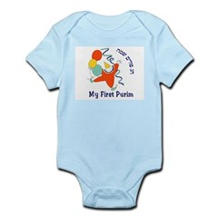 My First Purim Infant Bodysuit