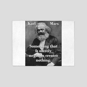 Something That Is Merely Negative - Karl Marx 5'x7