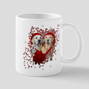 Valentines - Key to My Heart - Goldens Mug