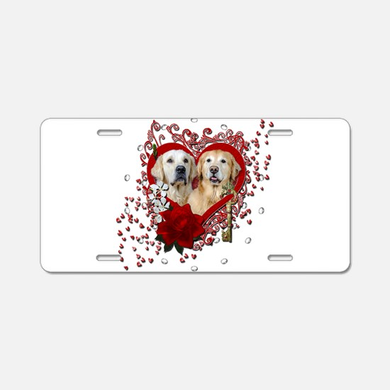 Valentines - Key to My Heart - Goldens Aluminum Li