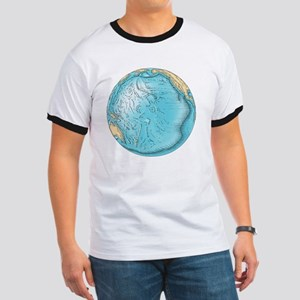 Pacific Ocean sea floor topography - Ringer T