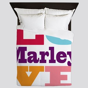 I Love Marley Queen Duvet