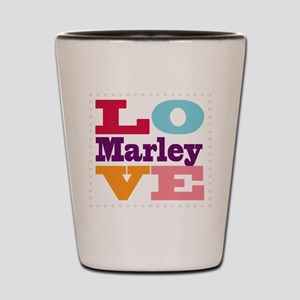 I Love Marley Shot Glass