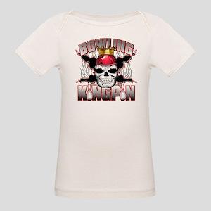 Bowling Kingpin Organic Baby T-Shirt